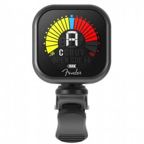 Fender Flash Tuner with Rechargeable Battery for Guitar, Bass, Ukulele, Violi...