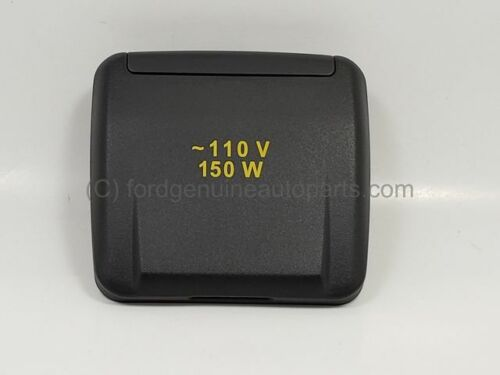 Genuine Ford OEM Power Outlet Cap Floor Console Cover CJ5Z19A487AA <br/> New OEM Factory Part