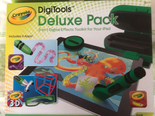 Crayola Digital Effects Toolkit For Ipad Digitools Delux Pack For Kids +Freepost