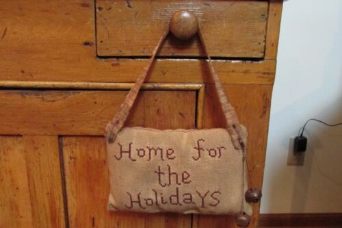 Artist Made Primitive Holiday Cupboard Keep, Christmas, Country, Farmhouse