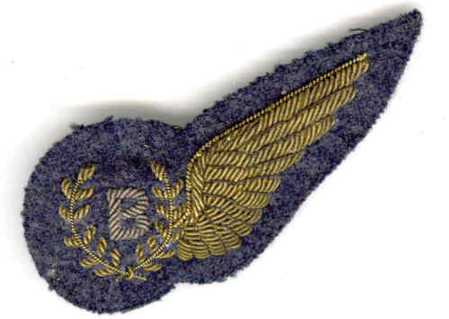 WW2  Royal Air Force (RAF)  Bomb Aimer Wing - Mess Dress Padded Variant1939 - 1945 (WWII) - 13977