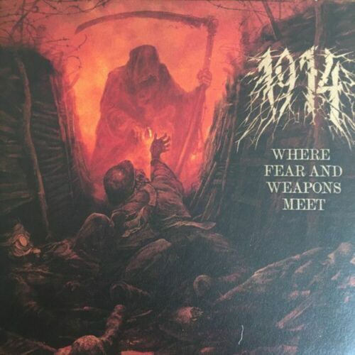 1914 - Where Fear And Weapons Meet - CD - New