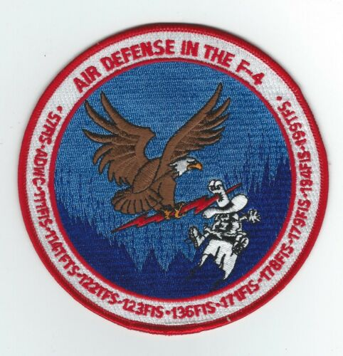 AIR DEFENSE AND THE F-4 COMMEMORATIVE patchAir Force - 48823