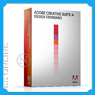 Adobe Creative Suite CS4 Design Standard MAC UPSELL CS