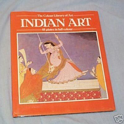 #XX. BOOK - INDIAN ART . 48 COLOUR PLATES