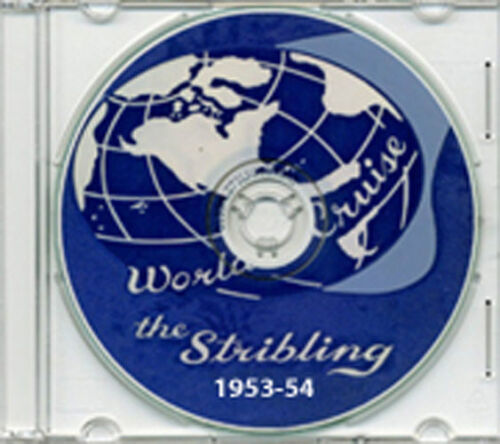 USS Stribling DD 867 1953 - 1954 Cruise Book on CD RAREReproductions - 156443