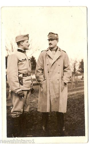 WWI MILITARY POSTCARD - AUSTRO-HUNGARIAN SOLDIERS