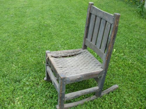 EXCEEDING RARE L JG STICKLEY ONONDAGA HICKORY CHAIR