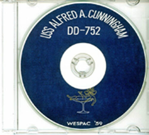 USS Alfred A Cunningham DD 752 CRUISE BOOK 1959 CDReproductions - 156443