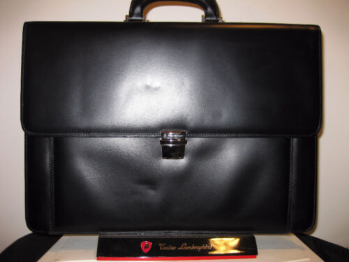 TONINO LAMBORGHINI SOFT BRIEFCASE