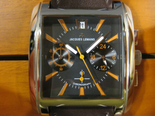 JACQUES LEMANS FORMAT CHRONOGRAPH