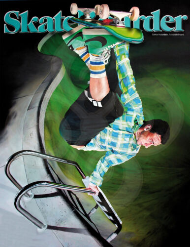 Skateboard Magazine cover/reproduction/ poster/17x22