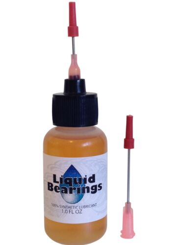 Liquid Bearings 100%-synthetic oil for antique or modern typewriters, READ THIS!