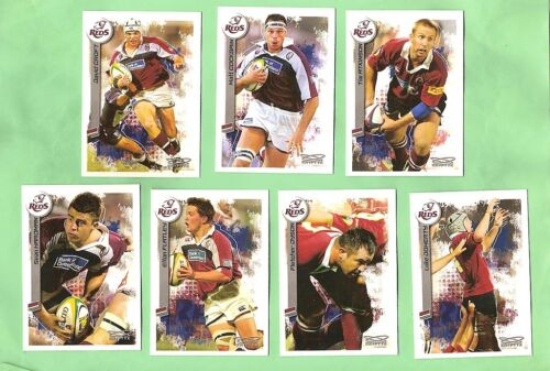2003  RUGBY UNION CARDS - QUEENSLAND REDSRugby Union Cards - 2969