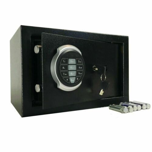 SAFE LARGE HIGH SECURITY ELECTRONIC DIGITAL STEEL HOME CASH RATED** SAFETY BOX