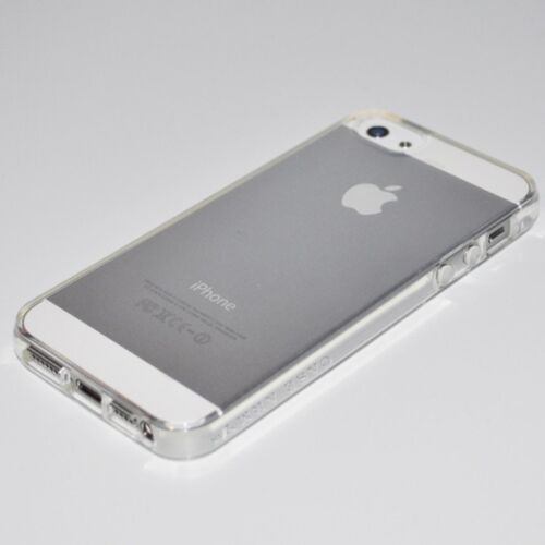 Shock absorbent Scratch-Resistant for Apple Slim Clear case iPhone cover 5 5S 5G