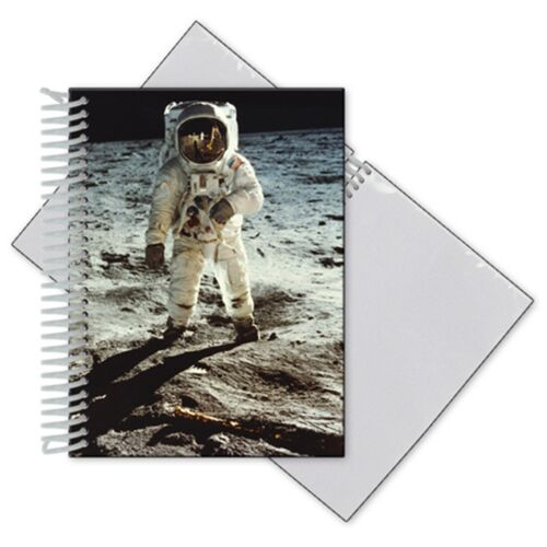 3D Lenticular Photo Album 4x6 In. Astronaut on Moon Outer Space #PA4X6-401#