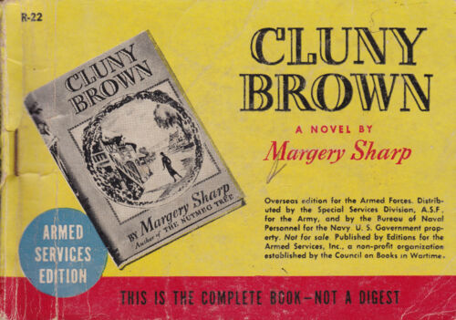 Margery Sharp Cluny Brown.