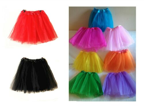 High Quality New Tutu Skirt LADY WOMEN GIRLS KIDS  Fancy Dress Skirts Hen Party <br/> Over 55000 Sold/Buy 1 Get 1 At 20% Off /UK Seller