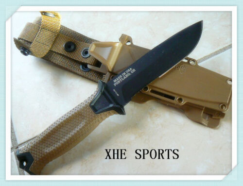 Gerber USA Strongarm Fixed Blade Survival Knife - Coyote Brown Serrated 01059Knives - 42574