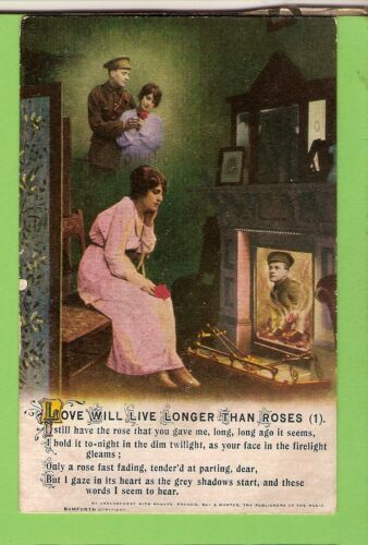 #C.   WWI    POSTCARD -  SOLDIERS SWEETHEART