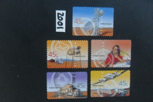 Australian Stamps: 2001 Outback Services P&S used