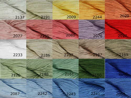 10 SKEINS DMC Moulinégarn Color Variations 8m G417 61 colors AVAILABLE