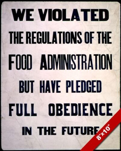 UNITED STATES PUBLIC SHAMING WWII RATION PROPAGANDA POSTER REAL CANVAS ART PRINT