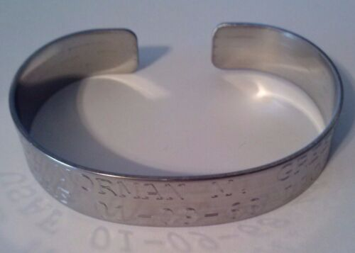 POW/MIA Prisoner of War Missing in Action Army Navy Marines Air Force Bracelet Reproductions - 156445