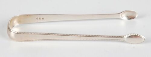 ANTIQUE GEORGE SMITH V STERLING SILVER SUGAR TONGS/NIPS C. 1791