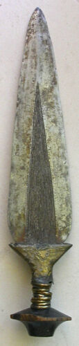 """EDGED TRIBAL WEAPON - 16.5"""" Long - Old"""