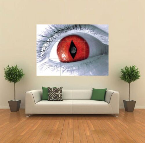 GOTHIC RED EYE MOON EVIL NEW GIANT POSTER WALL ART PRINT PICTURE G139