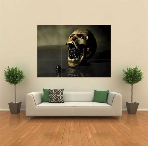 DARK REAL SKULL GOTHIC  NEW GIANT POSTER WALL ART PRINT PICTURE X1325