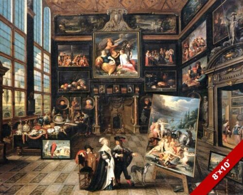 FRENCH ARTIST ART COLLECTORS GALLERY PAINTING FRANCE ART REAL CANVAS PRINT