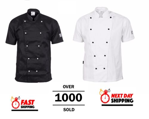 Traditional Chef Jacket Short Sleeve DNC Work Wear 1101