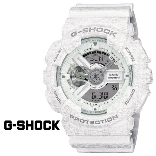 Casio G Shock *GA110HT-7A Gshock Watch Anadigi Heathered White COD PayPal <br/> SPECIAL OFFER! Nationwide COD Free Ship Meet Up PayPal