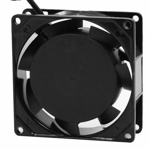AC 220-240V 0.07A 50/60Hz 80mm 8cm Metal Frame  Axial Cooling Fan