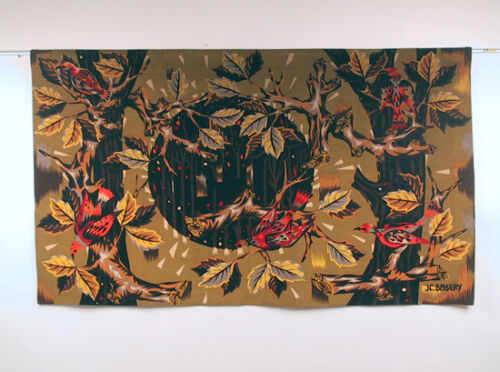 French Art Deco Fall Foliage tapestry (# 1)