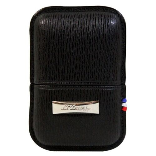 ST DuPont Lighter Case Black Leather Fits Line 1 Small /& Zippo New ##2