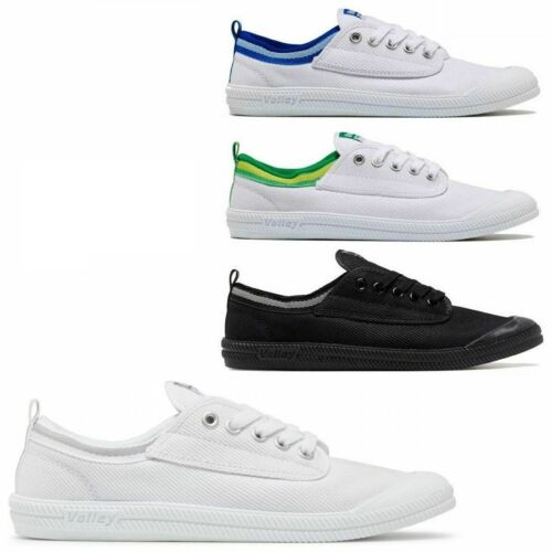 MENS DUNLOP VOLLEY INTERNATIONAL VOLLEYS MEN'S SNEAKERS CASUAL CANVAS LACE SHOES <br/> FREE Hand Sanitiser with every purchase of 2 or more!