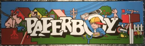 Top Holiday Gifts Paper Boy Arcade Marquee 23.8