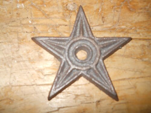 12 Cast Iron Stars Architectural Stress Washer Texas Lone Star Rustic Ranch