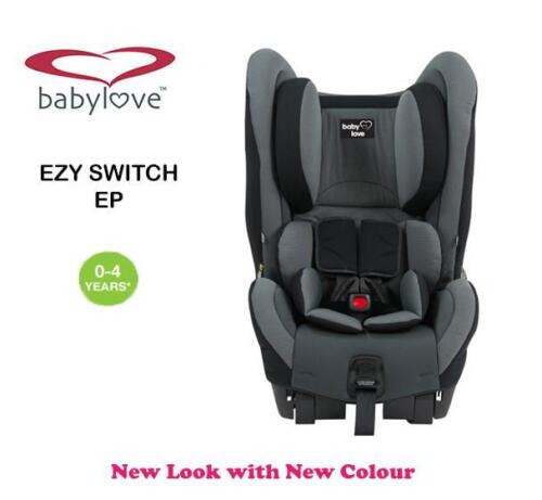 New BabyLove Ezy Switch Ep Convertible Child Infant Baby Car Seat 0-4 years Grey