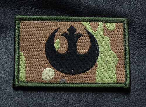 REBEL ALLIENCE STAR WARS TACTICAL MORALE HOOK PATCH Army - 48824
