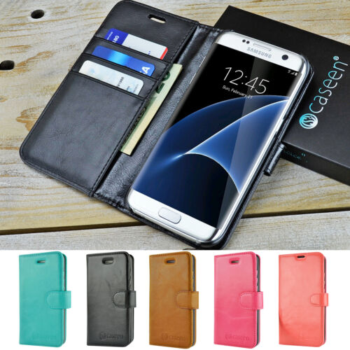 For Samsung Galaxy S7 / S7 Edge / S8 / S8 Plus Leather Wallet Flip Case Cover