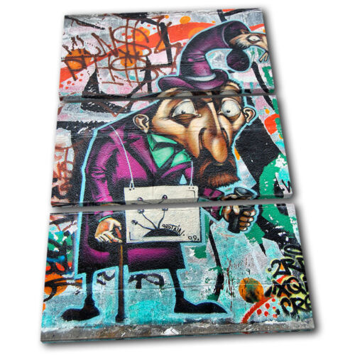 Graffiti Street Urban Grunge Canvas Artwork Picture Print Decorative Photo Wall