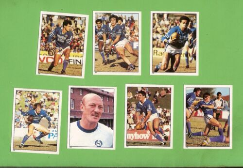 1983  Newtown Jets  Rugby League Stickers
