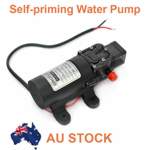 NEW 12V Water Pump 4.3Lpm Self-Priming Caravan Camping Boat FAST POST