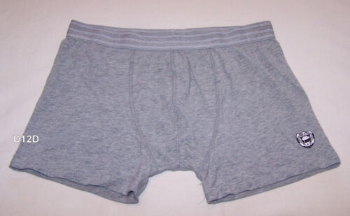 Top Gear Shield Mens Grey Printed Trunk Brief Size M New