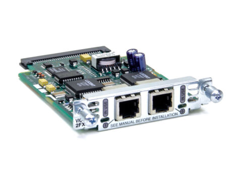 Cisco VIC-2FXS voice card CCVP CME Call Manager CCNP